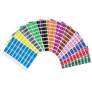 Kit includes 3240 Labels, Months January through December.