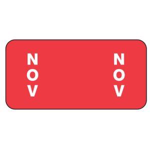 ServiceFile Month Labels on Sheets - November