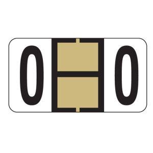 ServiceFile Labels on Sheets - Alpha Letter - O