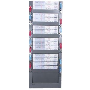 Wall Racks for Horizontal Forms - 18 Pockets
