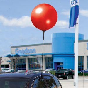 Reusable Vinyl Balloon Car Window Clips