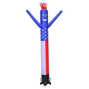 Inflatable Dancing Man Kit - USA - 10'