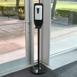 Automatic Hand Sanitizer Dispenser with Floor Stand