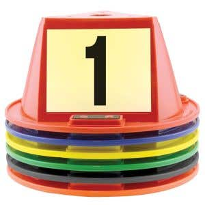 Magnetic Car Top Hats with Numbers