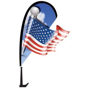 Mini 3D Flag Window Kit - American