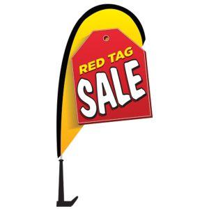 Mini 3D Flag Window Kit - Red Tag Sale