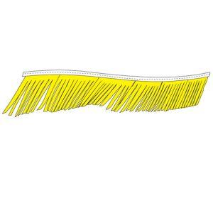 Fiesta Pennant Streamer - Yellow