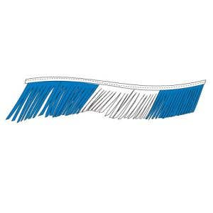 Fiesta Pennant Streamer - Blue, White