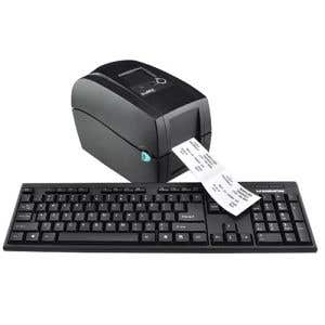 System includes preprogrammed Thermal Printer, Keyboard and Ribbon. (Oil Change Stickers sold separately, see below.)