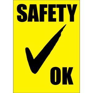 Safety Check Windshield Sticker