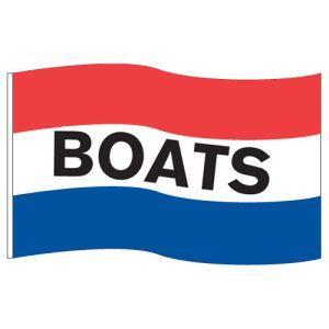 "Horizontal Tricolor Flag - ""Boats"""