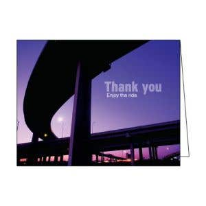 Thank You Card - Overpass Photo