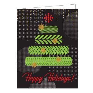 Holiday Card - Tire Tree