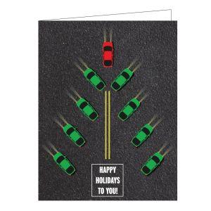 Holiday Card - Car Tree