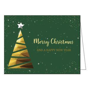 Holiday Card - Triangle Tree