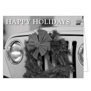 Holiday Card - Wreath on Grill