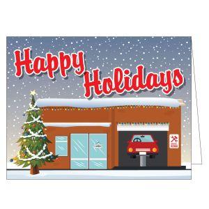 Holiday Card - Repair Shop