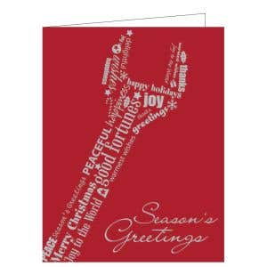 "Holiday Card - Wrench ""Season's Greetings"""