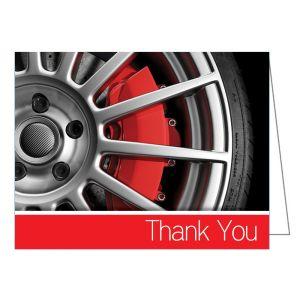Thank You Card - Wheel