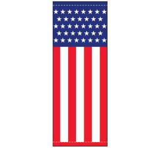 Vinyl Pole Banner Singles - American