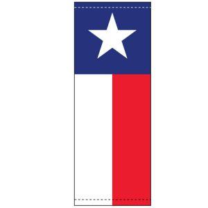 Vinyl Pole Banner Singles - Texas