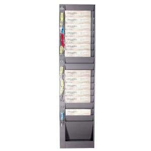 Wall Racks for Vertical Forms - 18 Pockets