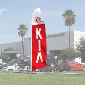 Franchise Wave Flag Kits - Kia