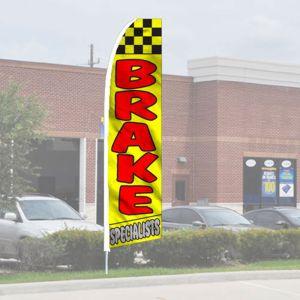 "Service Wave Flag Kits - ""Brake Specialists"""