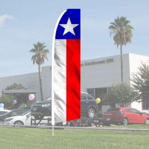 Sales Wave Flag Kits - Patriotic Lone Star