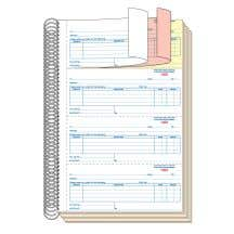 Purchase Order Book - 3 Part without Personalization