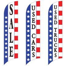 Sales Wave Flags - Patriotic