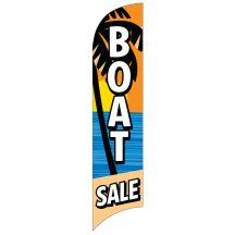 "Wave Flag - ""Boat Sale"" Beach"
