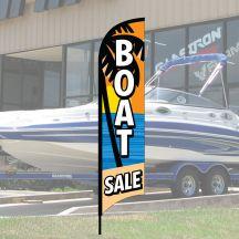 "Wave Flag Kits - ""Boat Sale"" Beach"