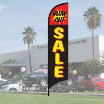 """Sales Wave Flag Kits - """"Blow Out Sale"""""""