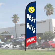 "Sales Wave Flag Kits - ""Best Buys Here"""