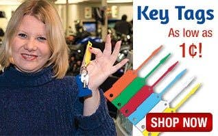 Key tags As Low As 1 cent