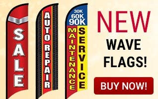 NEW Wave Flags!