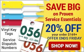 Service Essentials - 20% off $169+