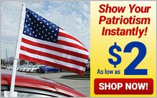 Show Your Patriotism - As Low As $2 each