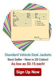 Vehicle Deal Jackets